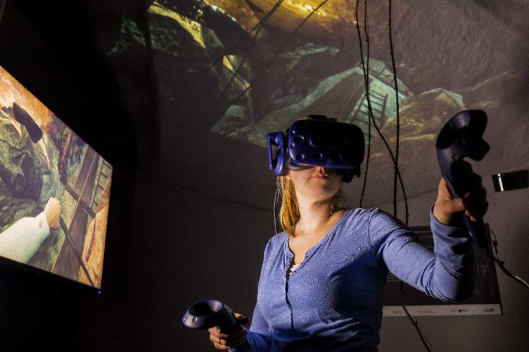 Im MiBERZ kann virtuell zum digitalen Gezähe gegriffen werden! Foto: Sylvio Dittrich